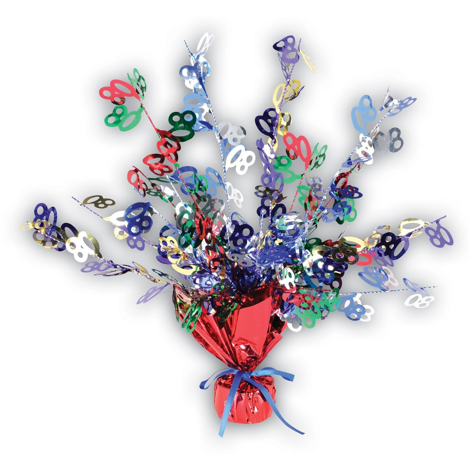 """80"" Gleam 'N Burst Centerpiece, 15-inch Pkg/3 PMU 50818-80-3"