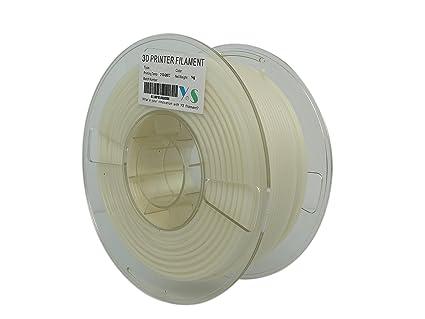 YS filamento ABS retardante de llama 2.85mm color Blanco 1kg con calificación 5 VA