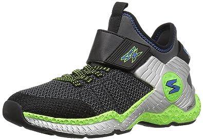 Skechers Kids Boys  Cosmic Foam II 97505L Sneaker Black/Charcoal/Lime 10.5 M US Little Kid