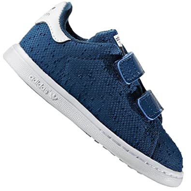 adidas Originals Stan Smith Enfants Chaussures Baskets LA Basket Gazelle Bleu - Bleu, 24 EU: Amazon.fr: Chaussures et Sacs