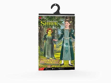 Smiffys Princesa Fiona - Shrek - Dreamworks - Traje de Niño - Pequeños - 128 cm - Edad - 4-6: Amazon.es: Juguetes y juegos