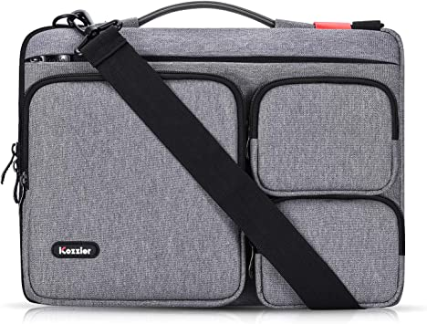 iCozzier 13-13.3 Pulgadas Thri-Sidepocket Funda para portátil con asa y Correa para el Hombro/Maletín Multifuncional para Laptop de Negocios para Ultrabook/Notebook/MacBook de 13 Pulgadas: Amazon.es: Electrónica