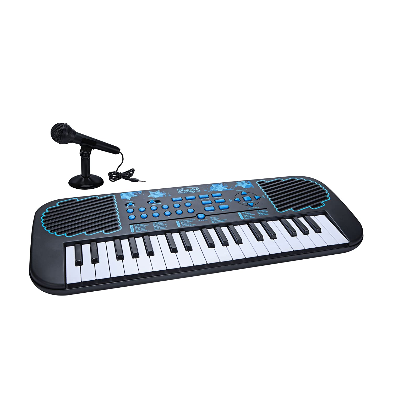 First Act FAD0145 37 Key Keyboard Pack with Microphone First Act Inc.