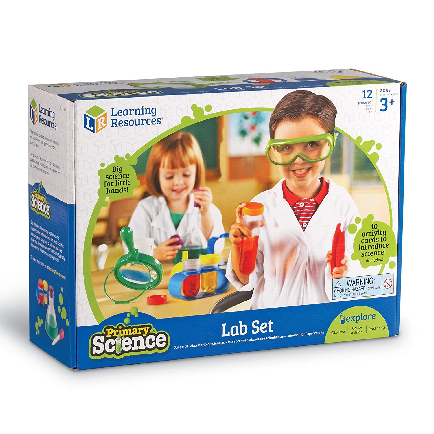 Amazon Learning Resources Primary Science Lab Activity Set