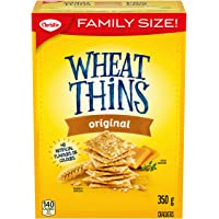 WHEAT THINS Original Family Size Crackers 350 g
