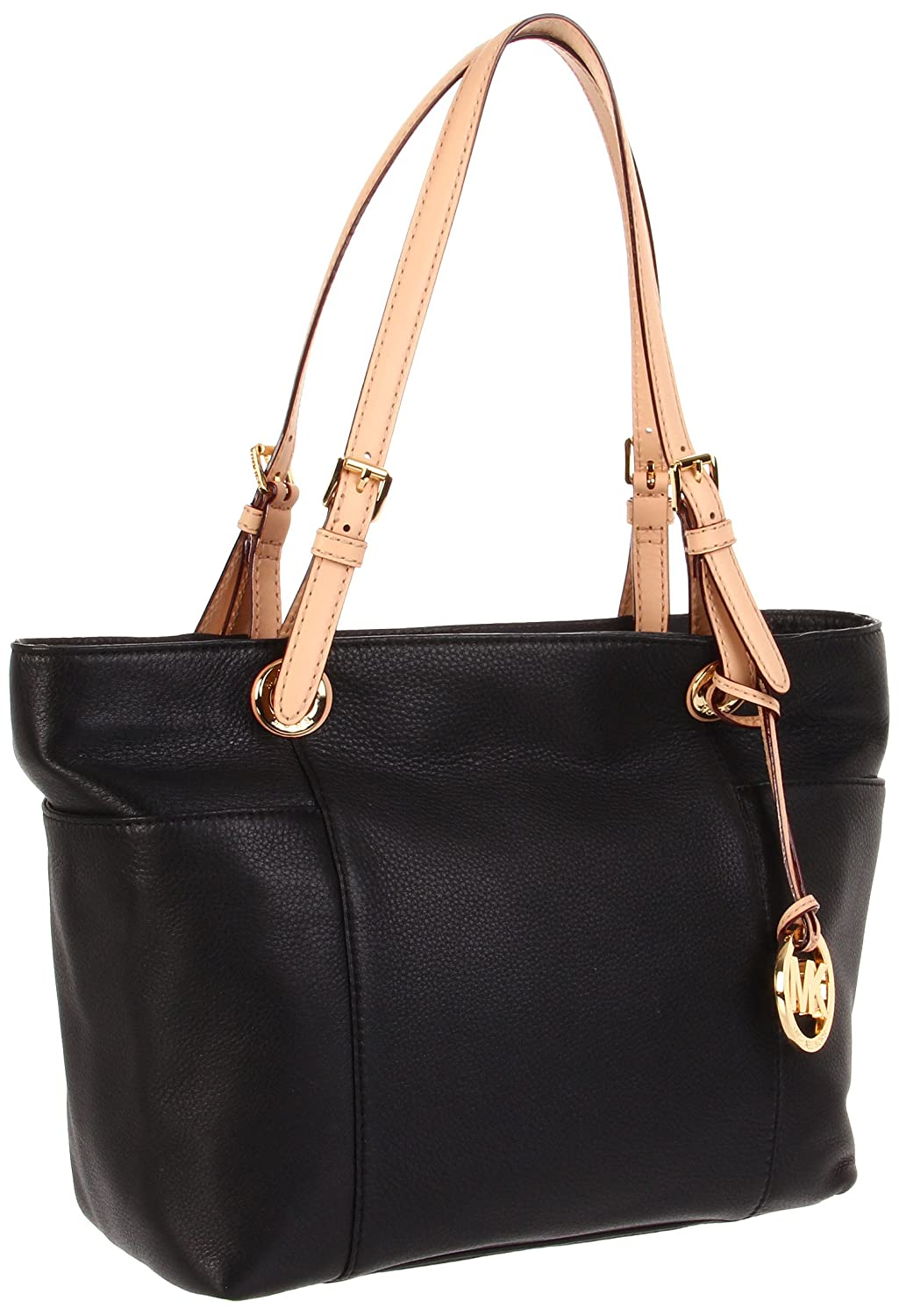 42cc8f171cc5 MICHAEL Michael Kors Jet Set Tote Black: Handbags: Amazon.com