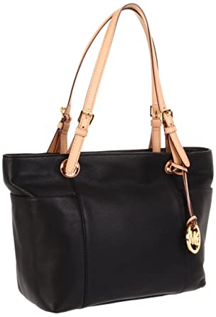 7ce868469d28 MICHAEL Michael Kors Jet Set Tote Black: Handbags: Amazon.com