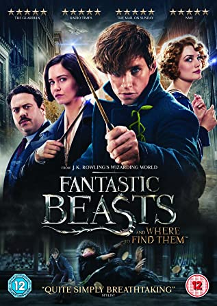 fantastic beasts and where to find them dvd digital download 2016