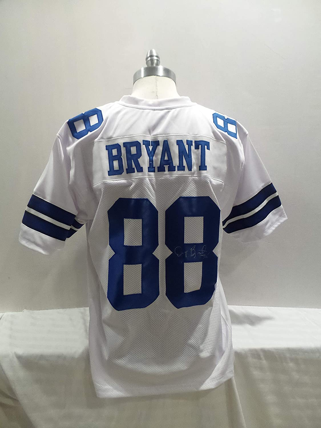 the best attitude 7cfaa 1adc8 Dez Bryant Signed Dallas Cowboys White Autographed Novelty ...