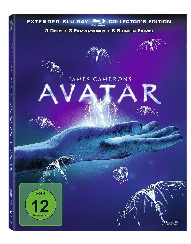Bd Avatar Blu Ray Amazonfr Sam Worthington Zoe Saldana