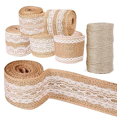 Faylapa Paquete de 6 rollos de cinta de artesanía de ...