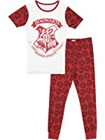 Harry Potter Girls' Harry Potter Hogwarts Pajamas