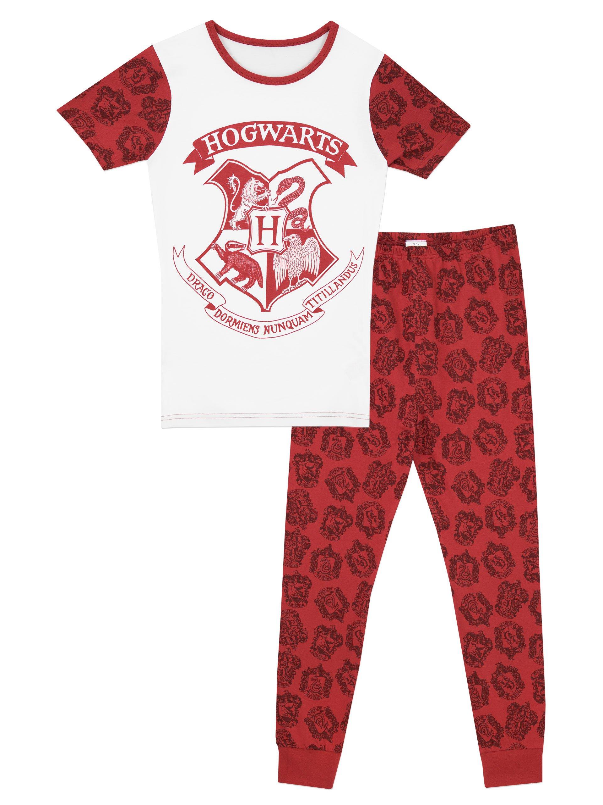 Harry Potter Girls' Harry Potter Pajamas Hogwarts Size 6