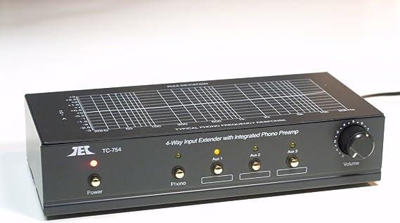 Preamplificador T-Preamp TCC TC-754 fono + línea: Amazon.es ...
