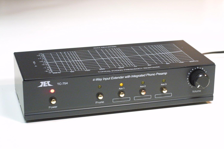 T-Preamp TCC TC-754 Preamplificatore Phono + Linea TEC TCC
