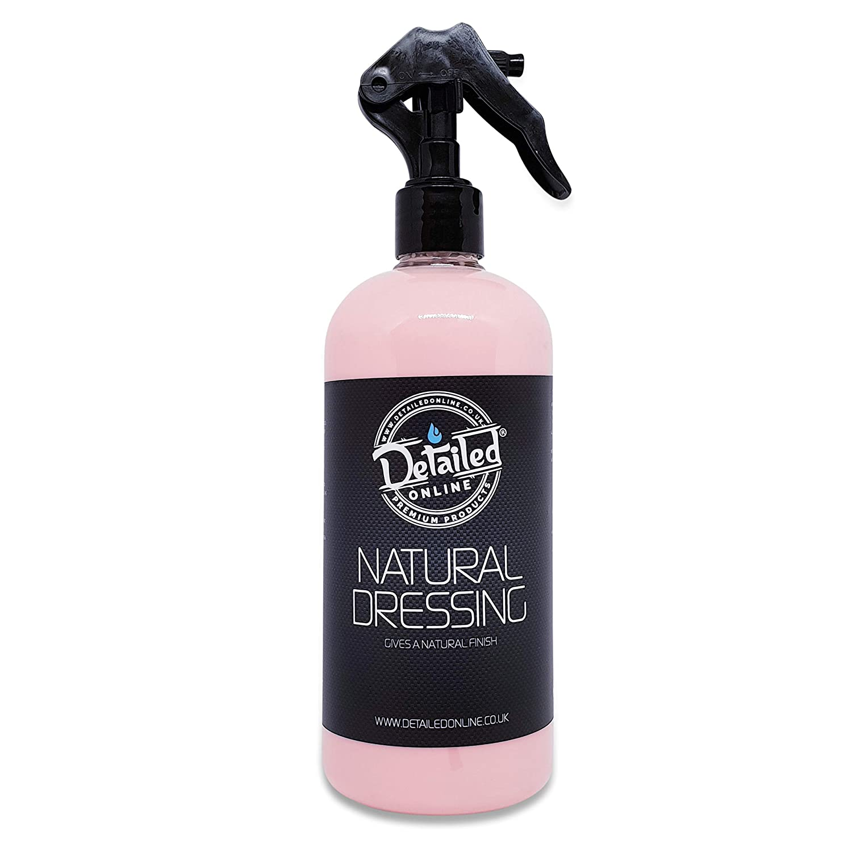 DetailedOnline Natural Interior Dressing Valet Dash board Cleaner Trim Restorer Cherry Fragrance 500ml