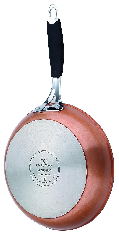 Bergner Infinity Chef Sartén de Inducción, Aluminio Forjado, Bronce, 16 cm: Amazon.es: Hogar