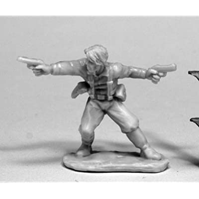 Reaper Miniatures 80074 Jake Ryan Hero Explorer, Chronoscope Bones Miniature: Toys & Games