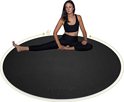 5mm Thick Yoga Mat Exercise Extra Non-slip Surface Sticky Fitness Gym Pilates