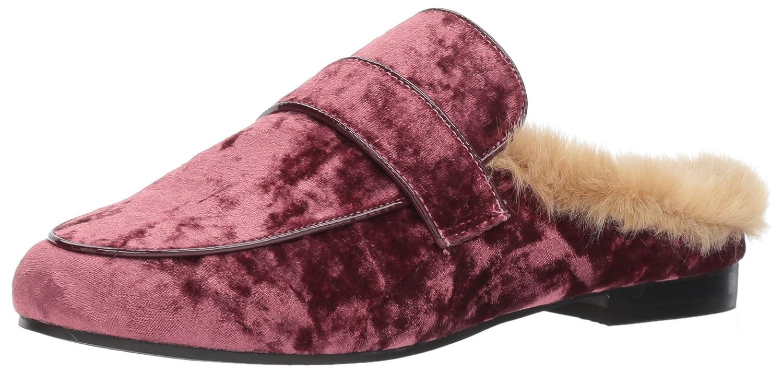 Steve Madden Women's Kaden Loafer Flat B073SHZBJ8 5 B(M) US|Mauve Velvet