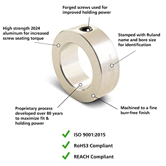 "RULAND Split Black Steel 3//4/"" X 3//4/"" Coupling 61005K144 #03G66"