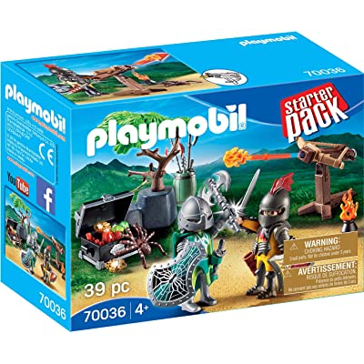 PLAYMOBIL Knight\'s Treasure Battle and Figure Pack Playset: Toys & Games [5Bkhe0301119]