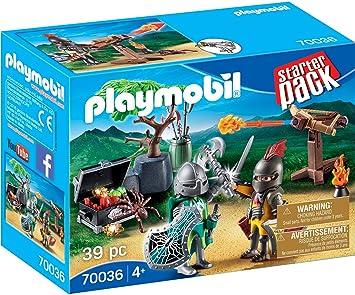 Playmobil 70036 Starter Pack Starter Pack Lucha para el Caballero del Tesoro