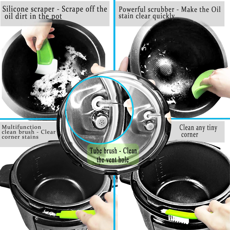 19Pcs Pot Accessories for Pressure Cooker fit 5,6,8Qt Pressure Cooker Pot Accessories Instant by DONEWISH (Image #4)