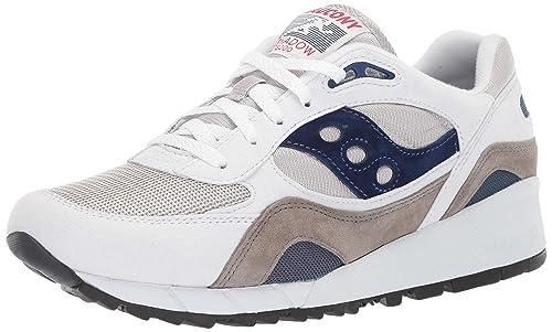 b0fd8ab71c Saucony Shadow 6000 Bianco/Grigio/Marina Sneaker