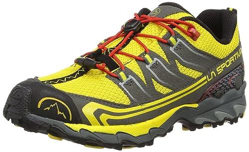 La Sportiva Falkon Low - Zapatillas de travesía para niño, Color Amarillo/Negro, Talla 37: Amazon.es: Zapatos y complementos