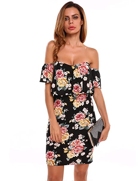 Carsget Evening Cocktail Dress Cocktail Dress For Women Party Beach