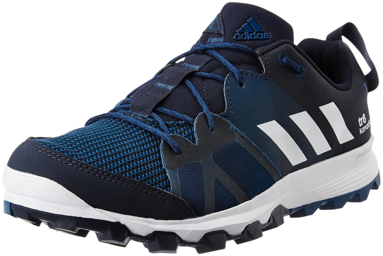 Adidas Uomo Kanadia 8.1 Tr M Scarpe Da Corsa Giallo Blu