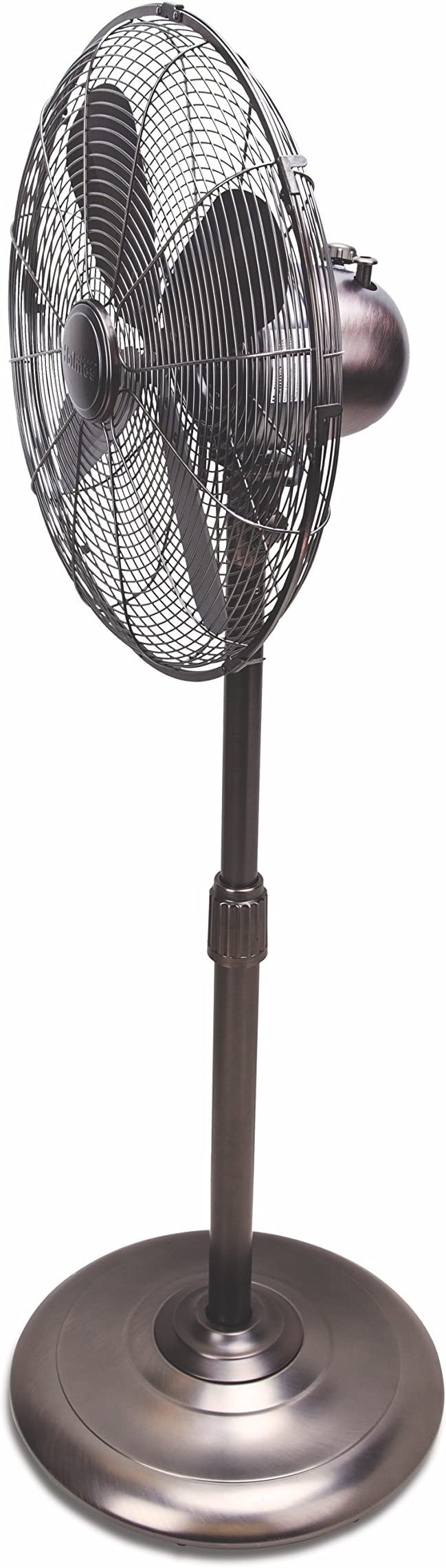Amazon Com Holmes Hsf1606 Btu Stand Fan 16 Inch Brushed Antique Nickle Finish Home Kitchen