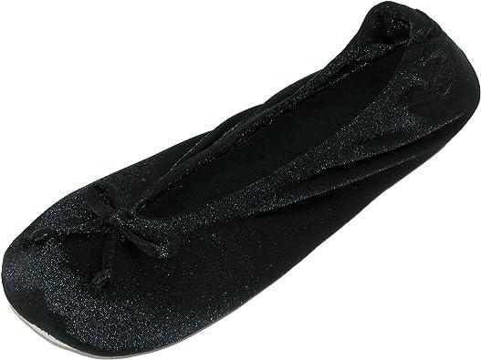 Satin Classic Ballerina Slippers (Pack