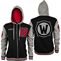 Chaqueta con Capucha World of Warcraft Team Horde Deluxe Negro Gris Rojo