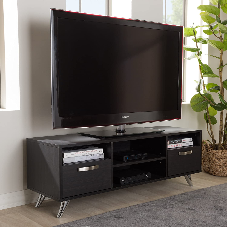 Baxton Studio Warwick - Soporte para televisor (47 pulgadas ...