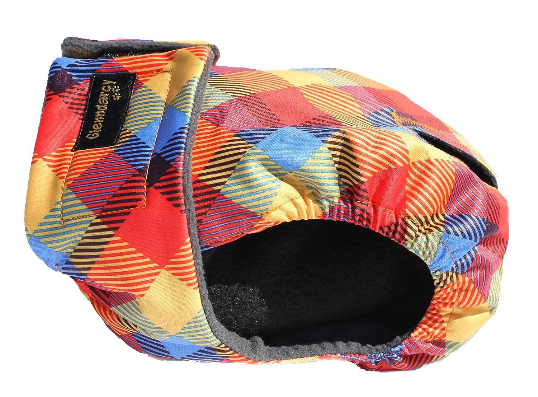 Glenndarcy Female Dog Season Nappy Diaper I Washable I Rainbow Medium Pants and 2 Washable Pads Glenndarcy Dog Pants