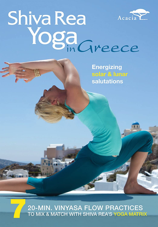 amazon com shiva rea yoga in greece shiva rea matt wright