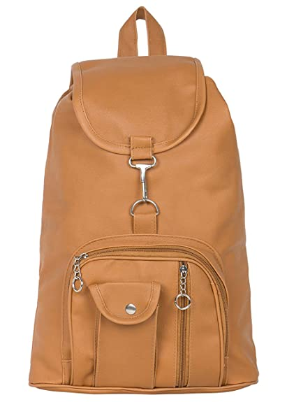 a9633a386 Bizarre Vogue Stylish College Bags Backpacks for Women   Girls (Mustard