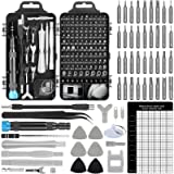 Upgrade Apsung 137 in 1 Precision Screwdriver Set with Slotted, Phillips, Torx& More Bits, Non-Slip Magnetic Electronics…