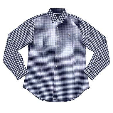 0b370d2af Polo Ralph Lauren Men s Slim Fit Stretch Oxford Shirt - Blue ...