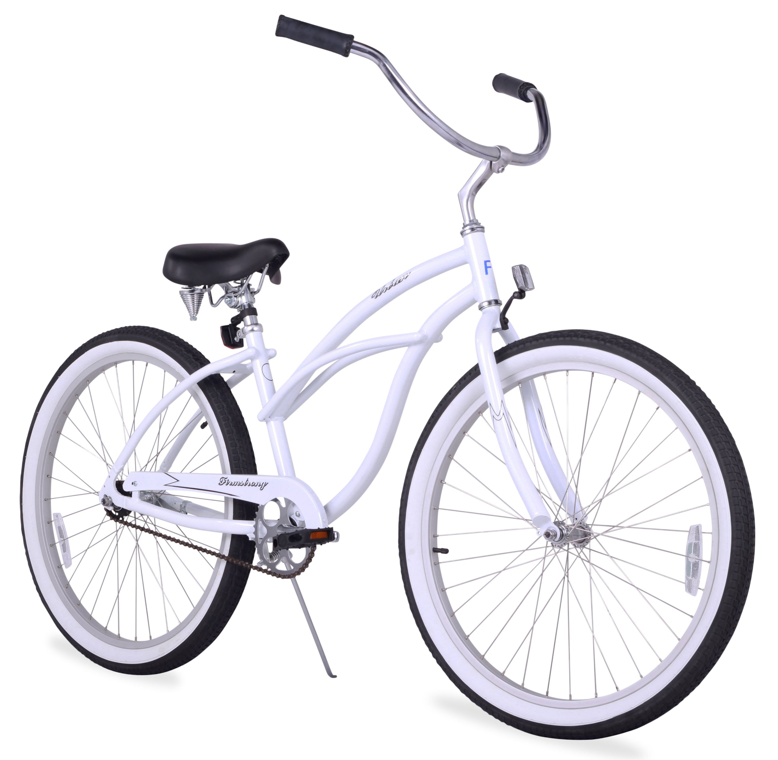 "Firmstrong Urban Lady Women's 26"" Single Speed Beach Cruiser Bike"