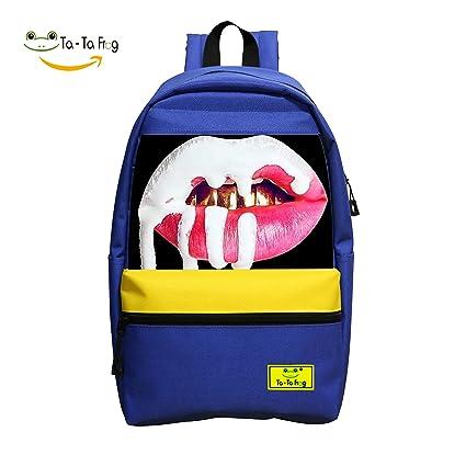 DIY gym-kylie-jenner-lip-kit mochila escolar mochila para niños y