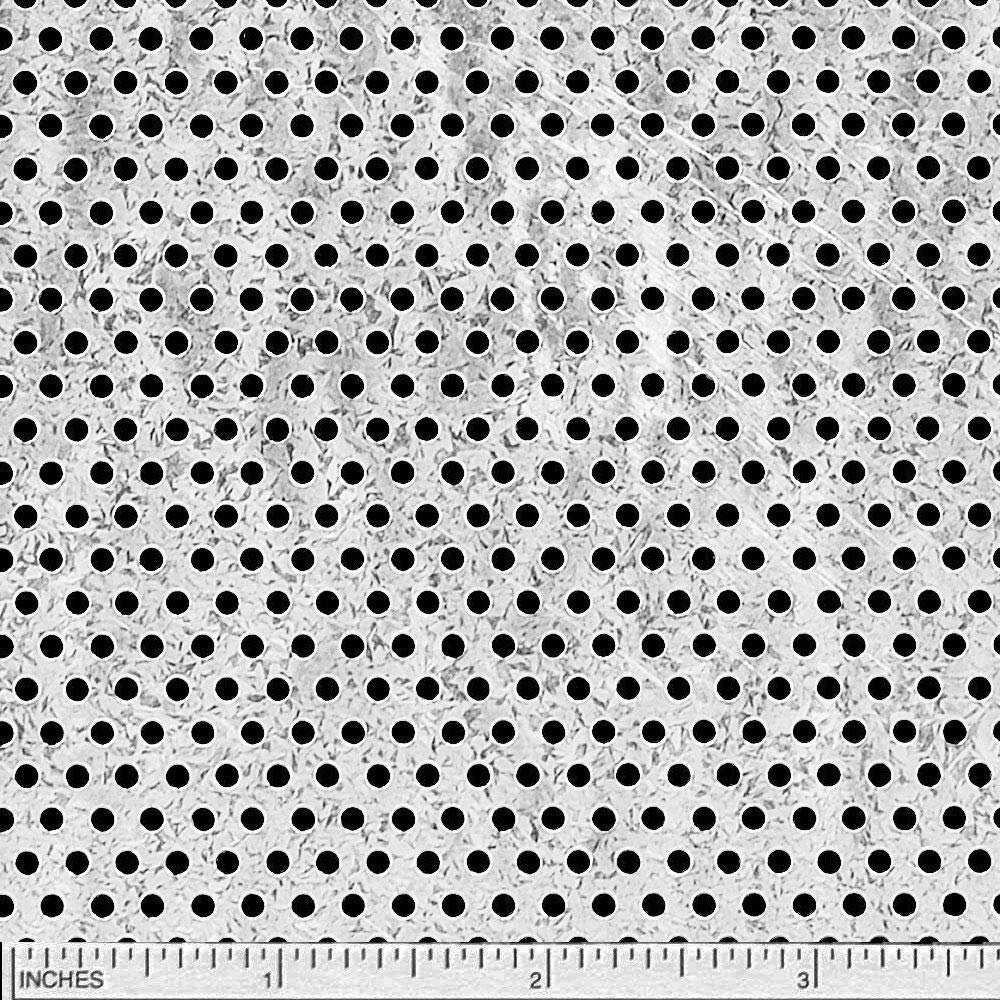 Online Metal Supply Galvanized Steel Perforated Sheet 0.034 x 12 x 12 3//32 Holes