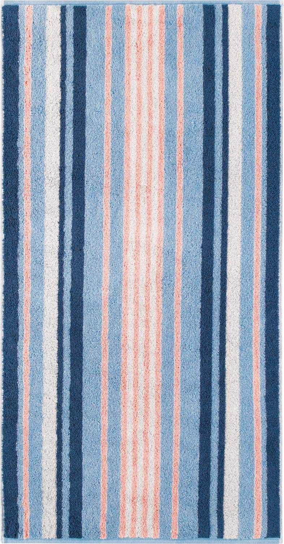Coton Orange Caw/ö 984 Level Stripe Serviette 50 x 100 cm