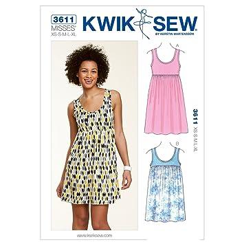 Kwik Sew Mustern K3611 Größe XS – klein – mittel – groß – Extra Groß ...