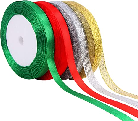 20 m de 10 mm Organza Ribbon