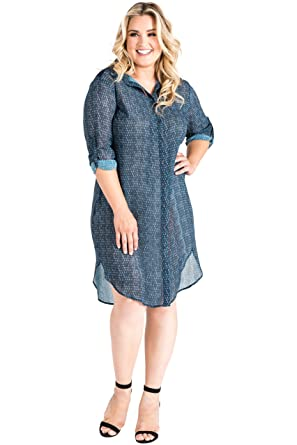 cfc8a1283 Standards & Practices Plus Size Women's Snake Charmer Print Chiffon Shirt  Dress Size ...