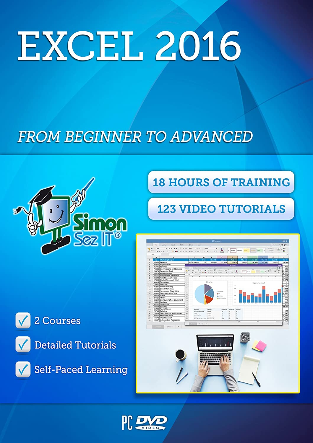 Amazon Master Excel 2016 Training Course From Beginner To