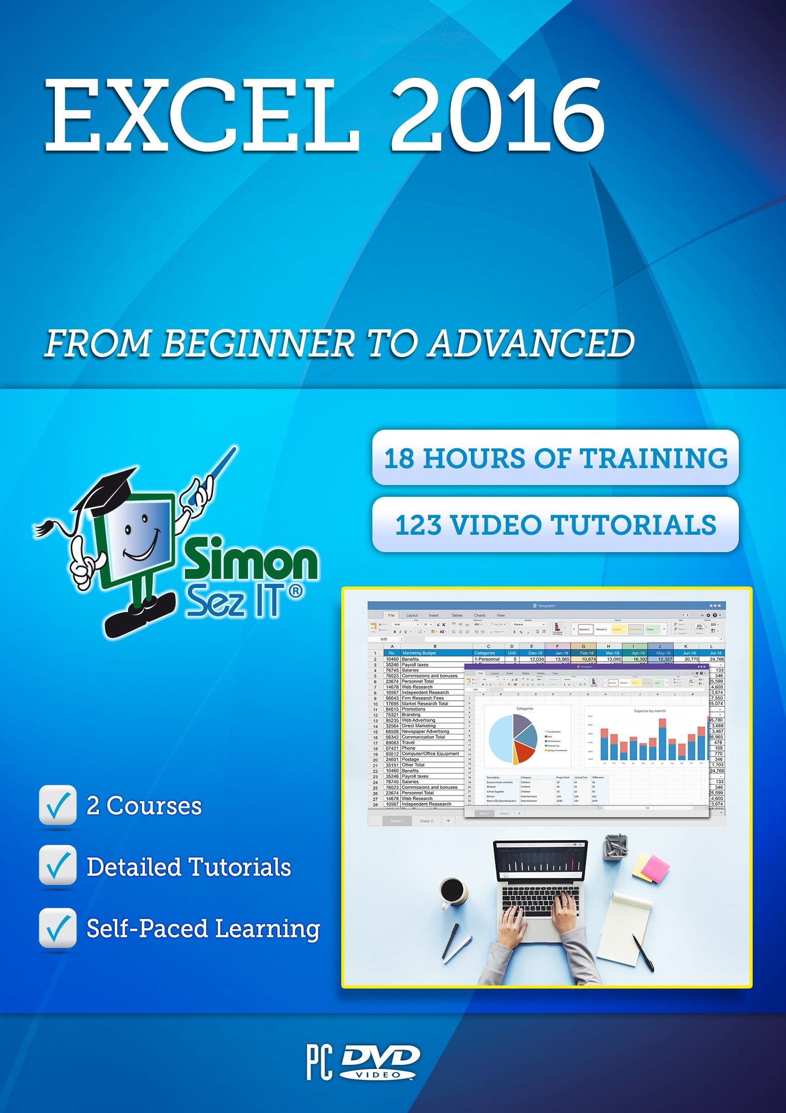Master Excel 2016 Training Course - From Beginner to Advanced Level by Simon Sez IT